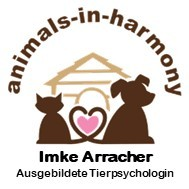 Logo animals-in-harmony Tierpsychologin Imke Arracher